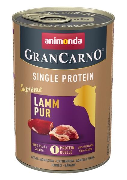 Animonda GranCarno Single Protein Lamm Pur