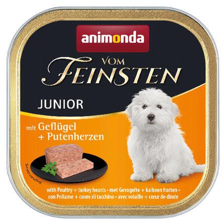 Animonda vom Feinsten Junior mit Geflügel + Putenherzen 150 g