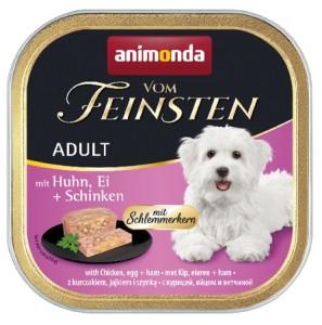 Animonda vom Feinsten Schlemmerkern Huhn, Ei + Schinken...