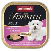 Animonda vom Feinsten Schlemmerkern Huhn, Ei + Schinken 150 g