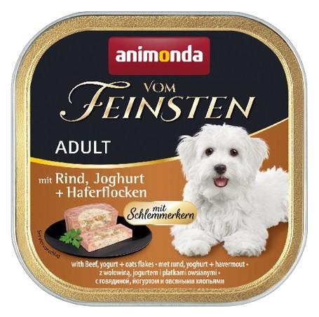 Animonda vom Feinsten Schlemmerkern Rind, Joghurt + Haferflocken 150 g