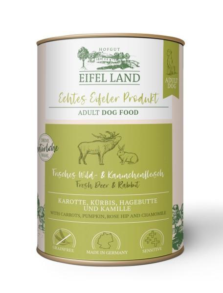 Eifel Land frisches Wild + Kaninchenfleisch